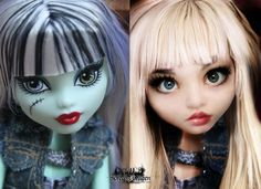 ♥ Amazing #MonsterHigh transformation!