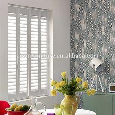 San Jose Pure White Shutter Blinds Shutter blinds White shutters