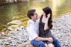 Upper Bidwell Park Creek Engagement Photography in Chico California by TréCreative Film&Photo http://trecreative.com/