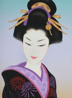 I like this - miraclepooh: Japanese figurative art lithographs...