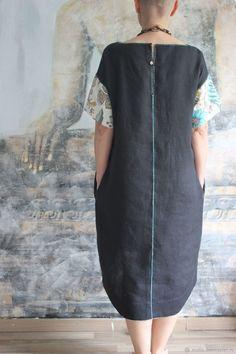 b1564e09151 Платья ручной работы. Заказать Льняное платье. Maya Moliq. Ярмарка Мастеров.  Ручная работа