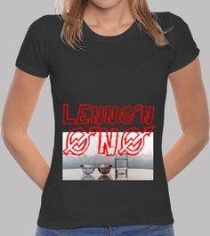 #John lennon yoko ono donna maniche corte  ad Euro 19.90 in #Tostadora #T shirt donna