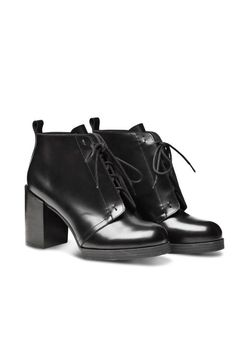 Cheap Monday Layer Boot Hide, £120; cheapmonday.com