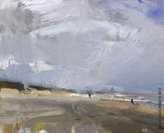 Seascape Spring 3 - http://rosepleinair.com/seascape-spring-3/ #painting #pleinair