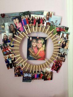 Circular Photo Collage.