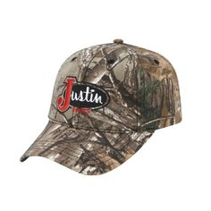 PDG-73491 Justin Boots Realtree® Extra All Over Camo Ball Cap Fashion Caps 3cdf53c40005
