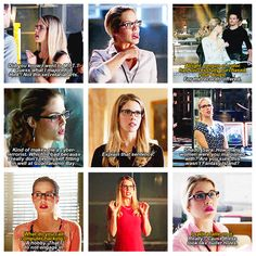 Felicity Smoak #Arrow <3 gotta love felicity the last one and the 3rd from last are absolutely amazing!!!!