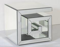 Greek Key Design Side Table