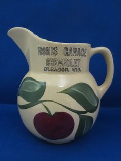 Watt Pottery #16 w/Nice Vintage Advertising