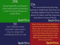 Harry Potter Facts (#4).... still enough to love Helena Bohnam Carter...