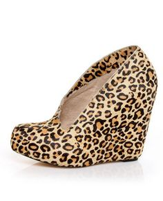 Lepard Wedges #lovelulus