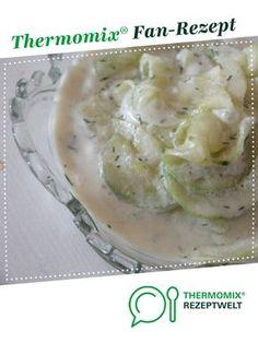Gurkensalat von Heiße Hexe. Ein Thermomix ® Rezept aus der Kategorie Vorspeisen/Salate auf www.rezeptwelt.de, der Thermomix ® Community.