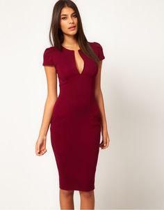 vestidos elegantes para oficina buscar con google