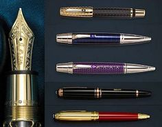 http://sensbucket.blogspot.in/2012/06/bonhams-wilmore-montblanc-collection.html- A list of Pens From Bonhams Auction