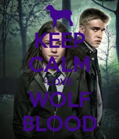 I LOVE WOLF BLOOD best show ever yall should watch it bc if u dont there is something seriousley wrong with u so what are you waiting for get up off your butt or butts go find a tv get back on ur butt or butts get netfix and put on Wolf Blood