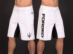 Crossfit Forged WOD Shorts -WHITE - XL