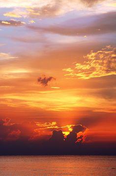 Caribbean Sunset, Montego Bay, Jamaica