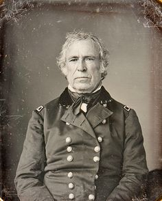 Zachary Taylor was the 12th President of the United States, serving from March 1849 until his death in July 1850. Taylor was a career officer in the United States Army, rising to the rank of major general. His status as a national hero as a result of his victories in the Mexican-American War won him election to the White House.  Lived: Nov 24, 1784 - Jul 09, 1850 (age 65). Spouse: Margaret Taylor (1810 - 1850) Vice President: Millard Fillmore. Parties: Whig Party · Democratic Party