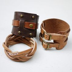| 2010-5-14 | by Fungus Workshop |  leather bracelets
