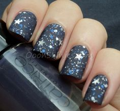 Catrice How I Matt Your Mother with I Love Nail Polish Once Upon A Starry Night and Essence Matt.