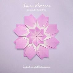 Tsuru Blossom design by Falk Brito.