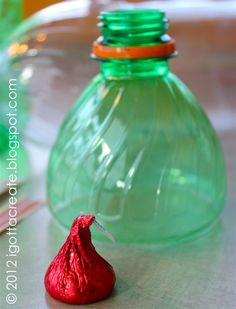 DIY giant hollow Kisses #Valentine tutorial can be found at http://igottacreate.blogspot.com/2012/02/diy-giant-hershey-filled-kisses.html