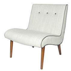 TWO IN STOCK - Alexis Canvas Fabric Chair: 25 x 31 x 30.5 -17- Rent: $36; Buy: $199