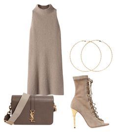 """""""Untitled #69"""" by aikoedith on Polyvore featuring STELLA McCARTNEY, Balmain, Yves Saint Laurent and Forever 21"""