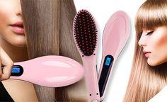 Четка за изсушаване и изправяне на коса Fast Hair Straightener