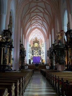 The site of the wedding in the sound of music- Salzburg, Austria. The best acoustics I've ever witnessed...