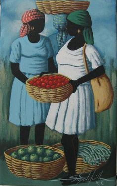 Two Women~Art Works For Haiti