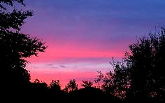 Gorgeous summer sky. Sent in by Jennifer Lane from Chapmanville, W.Va.