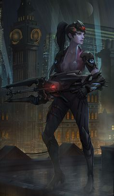 Widowmaker by yagaminoue.deviantart.com on @DeviantArt