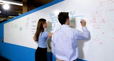 I don't know what it is about whiteboards but I definitely want one in my office! :)
