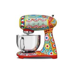 Following a collaboration last year which resulted in a fantastical, colourful, $45,000 fridge, Dolce & Gabbana's friendship with Smeg isn't over yet with the introduction of a series of kitchen appliances in conjuction with the Italian home appliance giant.