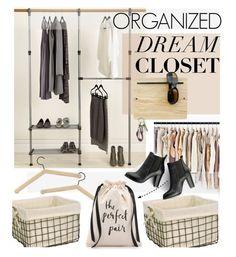 """ORGANIZED DREAM CLOSET"" by cutandpaste ❤ liked on Polyvore featuring interior, interiors, interior design, home, home decor, interior decorating, Whitmor, Skagerak, Dot & Bo and SWEET MANGO"