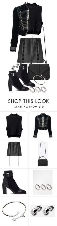 """""""Untitled #20447"""" by florencia95 ❤ liked on Polyvore featuring Roberto Cavalli, David Koma, Yves Saint Laurent, Isabel Marant, ASOS and Cartier"""