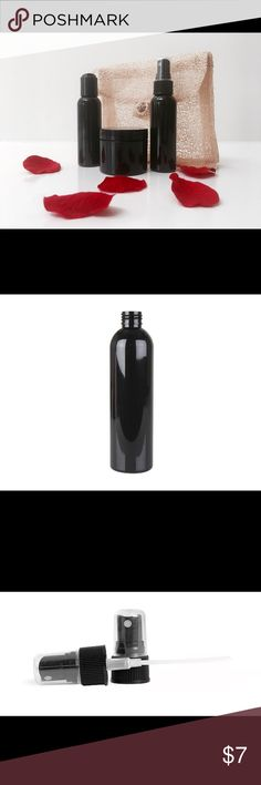 💋NEW Black Travel Trio Container Set This sleek, durable and recyclable black bottle set is a great choice for carrying your favorite products on the go!  Each set includes a 2oz spray bottle, push top bottle, jar and carrying case, and is also accompanied by  a blank, customizable label, for each container. ♻️                                                                         FINAL PRICE  PLEASE... 🚫trades  🚫holds.   ✅Further inquiries are welcome.  Thanks❣️ Savannah Red Other