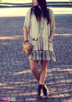 Free People dress I Rebecca Minkoff bag I Nakamol necklace I J Shoes I Gemelli bracelets