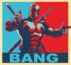 Deadpool Political by theblueblur242.deviantart.com on @deviantART