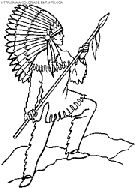 indian coloring pages to print out