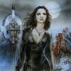 Anita Blake Luis Royo