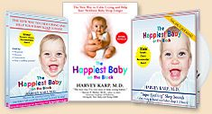 """A lot of people swear by the DVD, but I read the book. Fascinating """"missing fourth trimester"""" theory of why babies get colic."""