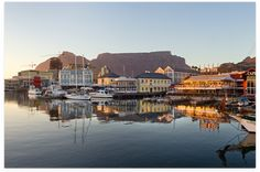 Berth at the Cape Town Cruise Terminal, situated within walking distance of Cape Town's inner cit, and experience this bustling, cosmopolitan city for yourself. V&a Waterfront, The V&a, Amazing Destinations, Cruises, Cape Town, Tourism, Ship, City, Turismo