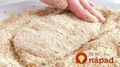 This method of crumbing can be used for chicken or other meat (including fish), or vegetables. Meat Recipes, Real Food Recipes, Chicken Recipes, Cooking Recipes, Yummy Food, Tasty, One Person Meals, Meals For One, Food 52
