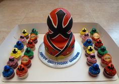 I so want to do this cake for my son's birthday.