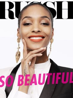 Jourdan Dunn is the Star of Russh's June/July 2013 Cover Shoot | Fashion Gone Rogue: The Latest in Editorials and Campaigns