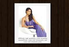 Roselyn Sanchez in Coomi Jewelry