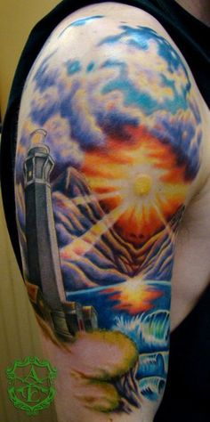 159 best landscape tattoos images on pinterest tatoos ocean