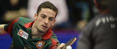 Ténis de mesa Marcos Freitas conquista Taça da Europa